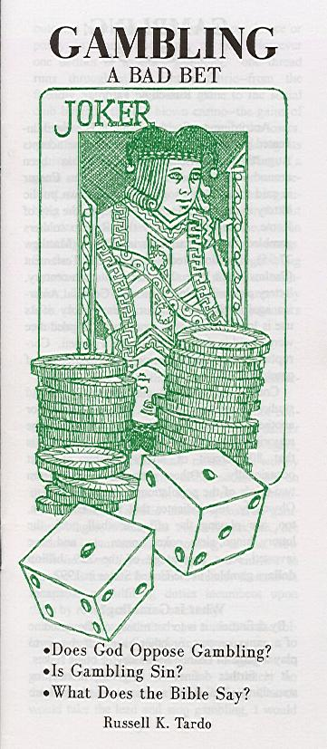 gambling a bad bet On jan 1, 2001 lm stevens (and others) published: when gambling becomes a bad bet.